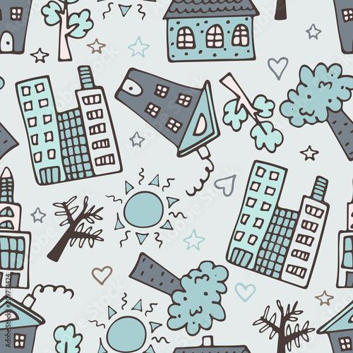 lekki-bezszwowy-wzor-z-drapaczami-chmur-domami-i-drzewami