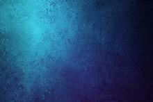Blue Background Texture With Distressed Vintage Grunge And Shiny Spotlight Corner Design