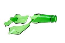 Broken Bottle Of Green, Broken...