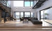 Modern Living Room Interior In...