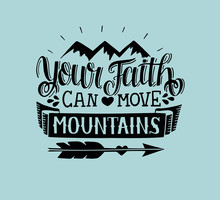 Hand Lettering Your Faith Can ...
