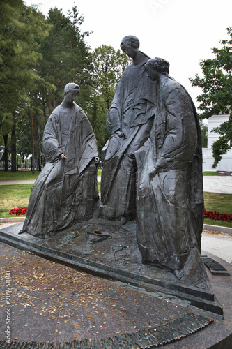 Foto op Canvas Monument Monument to Trinity in Yaroslavl. Russia