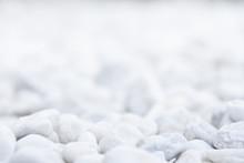 White Background Gravel