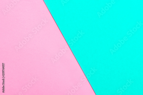 Pink And Turquoise Color Paper Texture Background Trend Colors Geometric Colorful