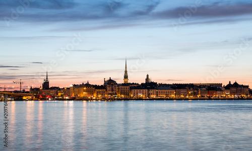 Staande foto Stockholm The Swedish capital Stockholm..