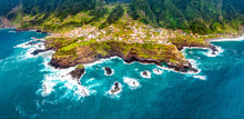 Aerial View - Land Meets Ocean...