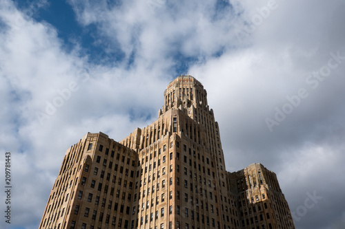 art deco buffalo city hall seat of municipal government in downtown