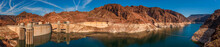 Panoramic View Of Hoover Dam, ...