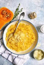 Delicious Pumpkin Risotto With...