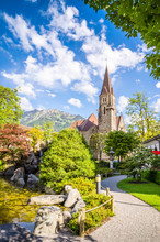 Beautiful Landscape Of Interlaken, Switzerland
