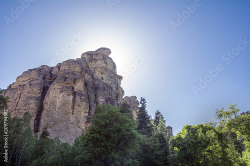 Tuinposter Canyon maple canyon utah where it is a popular destination for rock climbers