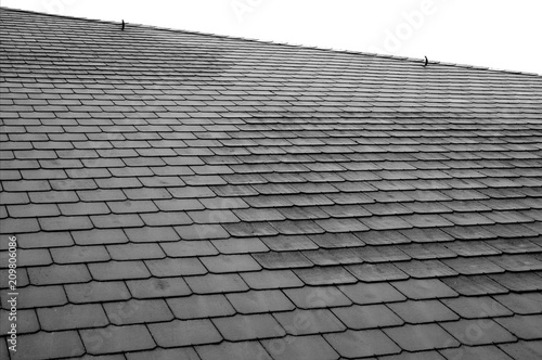 Dachfläche mit Schieferplatten Wallpaper Mural