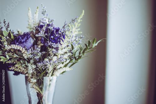 紫色の花束 Fototapet
