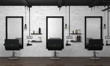 Hair Salon Interior Modern Sty...