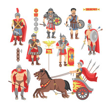 Gladiator Vector Roman Warrior...