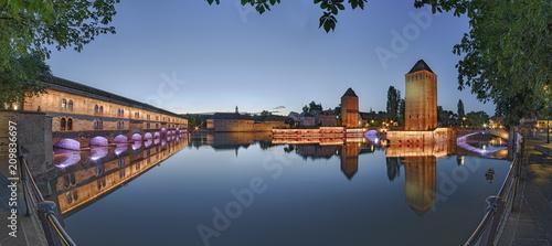 Papiers peints Con. ancienne Strassburg Barrage Vauban Elsass Panorama Frankreich