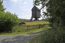 Bockwindmühle Im Hessenpark B...