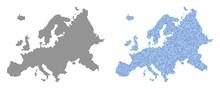 Circle Dot Europe Map Version....