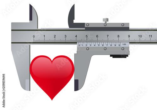 cœur - amour - générosité - généreux - amoureux - concept - empathie - aimer - f Fototapet