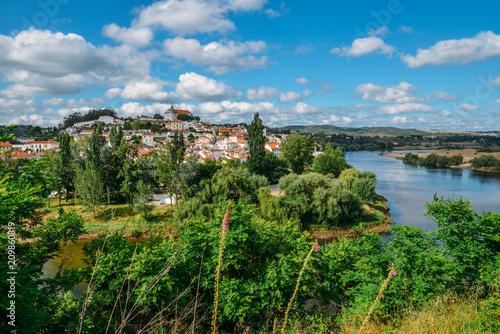 Landscape of Constancia. Santarem, Ribatejo, Portugal Tapéta, Fotótapéta