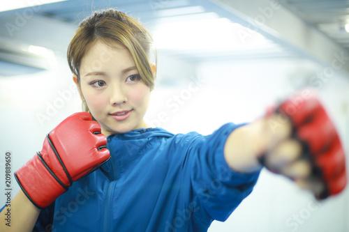 格闘技イメージ