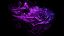 Smoke Rose From
