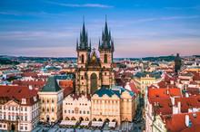Prague Cityscape, Main Square