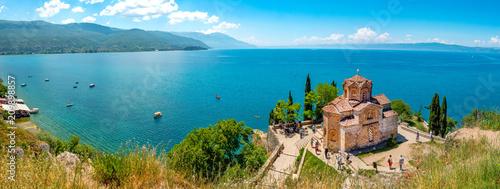 Photo  Kirche des Heiligen Johannes von Kaneo und Ohridsee, Ohrid