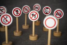 Forbidden Traffic Sign.