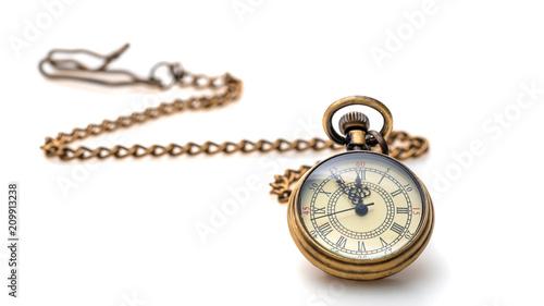 Fotografia Watch Necklace On White Background