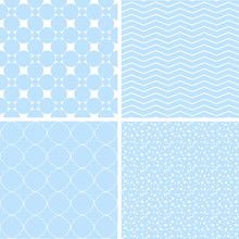 Different Baby Seamless Patterns.
