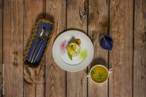 Canvas Print lunch