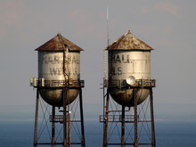 Tower, Water, Sky, Blue, Tank, Lamp, Light, Architecture, Old, Building, Storage, Structure, Control, Industry, Water Tower, Metal, Industrial, Travel, White, Supply, Steel, Tall, Lantern, Street, Con