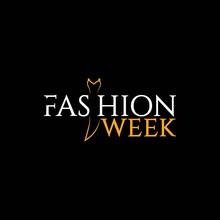 Fashion Week Vector Template Design Illustration