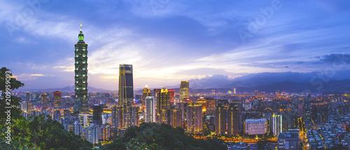 Cuadros en Lienzo  台湾 台北の都市風景