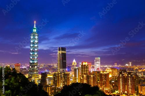 фотография  台湾 台北の都市風景