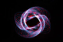 Light Painting Forming A Dashe...