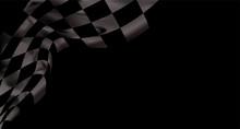 Race Flag Checkered Waving Fla...