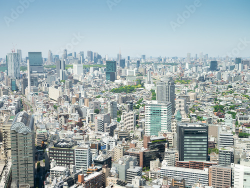 Spoed Foto op Canvas Tokio 東京 街並み