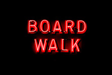 Boardwalk Neon Sign