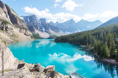 Keuken foto achterwand Canada Moraine lake