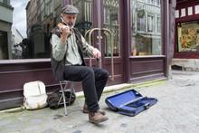 Artiste De Rue Violoniste
