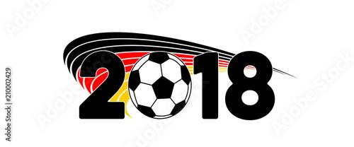 Deutschland Fahne Banner Fussball Wm 2018 Buy This Stock