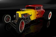 Hot Rod 3D Render