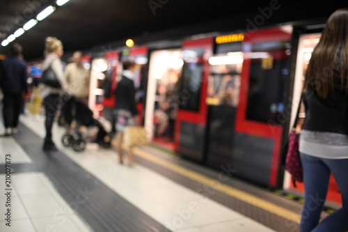 Cuadros en Lienzo Metropolitana di Milano