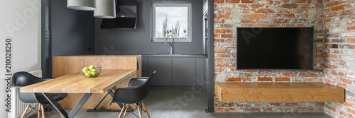 Fotomural Industrial style apartment