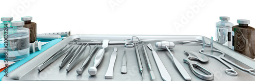 Fotografia Medical equipment in modern operating room