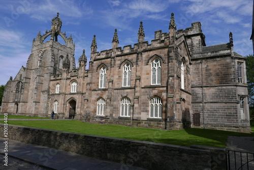 Photo King's College Chapel of Aberdeen, Scotland, United Kingdom