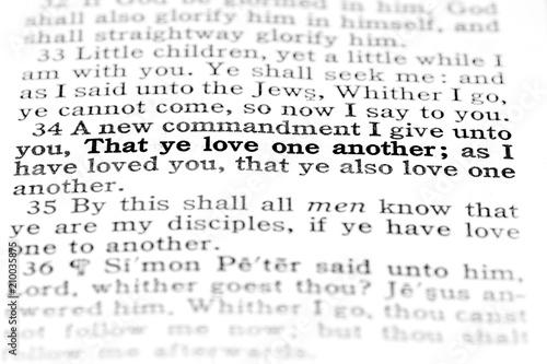 Scriptures from the Bible Spirituality Spirit Learning Gospel Truth Fototapeta