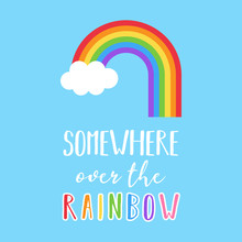 Rainbow Vector Illustration Wi...